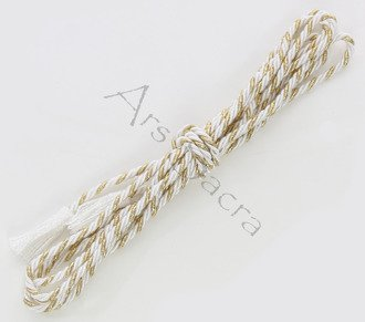 White/gold cincture CINCTURE-G