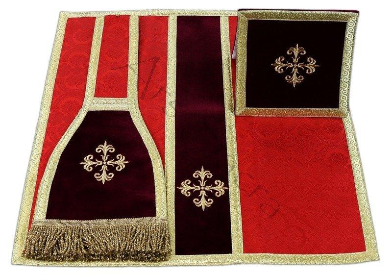 bourse manipule voile de calice vmb ac25 rouge bourse manipule voile de calice ornaty. Black Bedroom Furniture Sets. Home Design Ideas