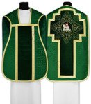 "Chasuble romaine ""Agneau"" R562-AZ25"