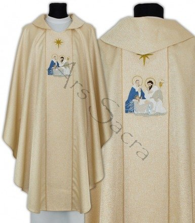 "Gothic Chasuble ""Christmas"" 664-G54"