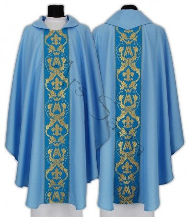 Marian Gothic Chasuble 081-N