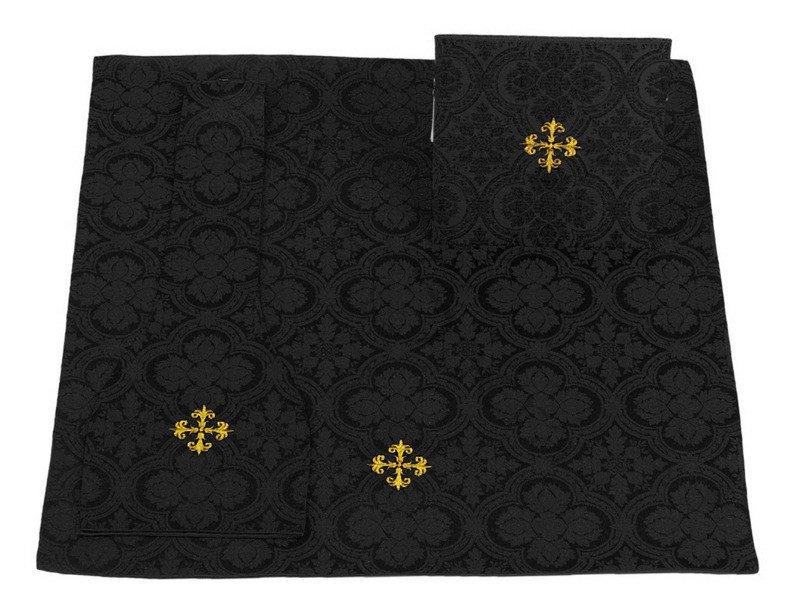bourse manipule voile de calice vmb cz25 noire bourse manipule voile de calice ornaty. Black Bedroom Furniture Sets. Home Design Ideas