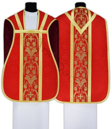 Chasuble romaine R001-C25